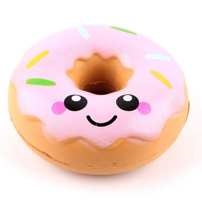 Jumbo Squishy Squeeze Doughnuts PU Collection Gift Soft Toy