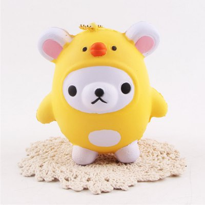 Jumbo Squishy Squeeze Bear PU Collection Gift Soft Toy
