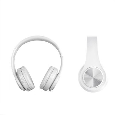 Wireless Headphones Bluetooth Headset Foldable Headphone Adjustable Earphones with Microphone
