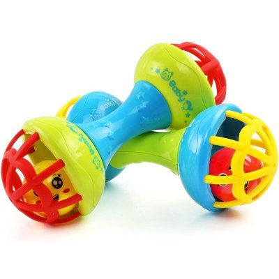 Baby Rattle Hand Shake Bell Birthday Gift Educational Toys for 0 - 3 Years Old Kids