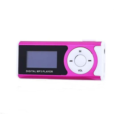 Mini Lettore LCD Screen MP3 Player Support 32GB Storage Portable