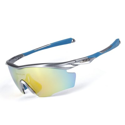 OBAOLAY SP0891 Polarized Sports Sunglasses Cycling Running Driving Fishing Unbreakable Frame