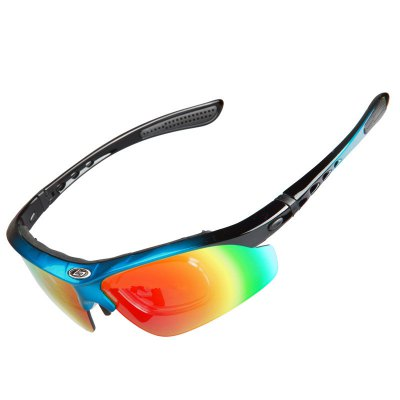 OBAOLAY SP0869 Polarized Sports Sunglasses for Men Women Cycling Durable Frame