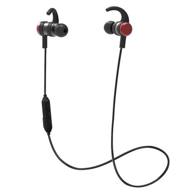 Slim Wireless Headphones, Lightweight Bluetooth 4.1 Earbuds IPX4 Water Resistant Sport Headset with Mic