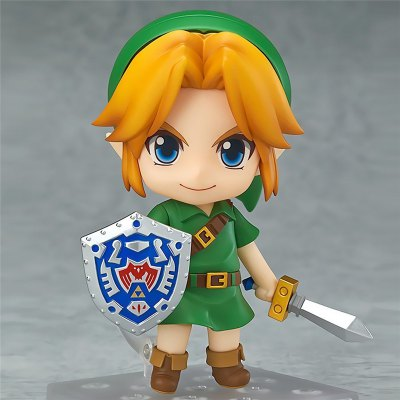 Cartoon Girl Image Style 3D Link Nendoroid Action Figure