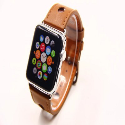 38mm Three-Hole Leather Strap Is Suitable for Iwatch 1/2/3