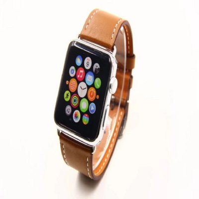 38MM 38MM Simple Leather Strap Is Suitable for Iwatch 1/2/3