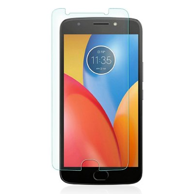JOFLO 9H Hardness Tempered Glass Screen Protector Film for MOTO E4 Plus