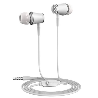 Stereo Earphones with Microphone Super Bass 3.5mm In-Ear Earphone Headset for iPhone/Xiaomi Mobile Phones