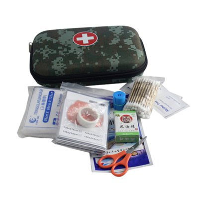 Mini Survival Tools Box - Medical Emergency Bag Lightweight for Emergencies Camping Traveling Adventures
