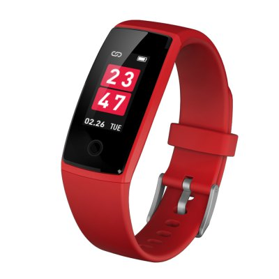V10 Heart Rate Monitor Blood Pressure Colorful Screen Smart Wristband Passometer Fitness stater 0.96 inch