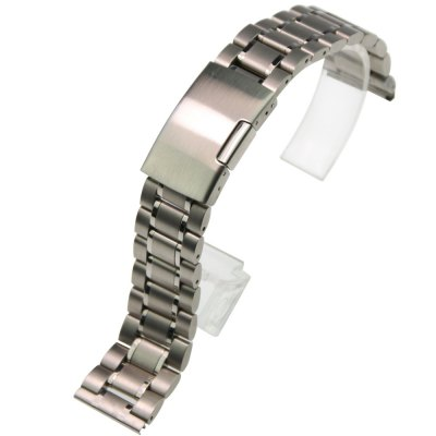 ZLIMSN S-S1 Stainless Steel Metal Watch Band 14mm 16mm 18mm 19mm 20mm 21mm 22mm 24mm 26mm