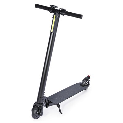 5 Inch Solid Tire Folding Electric Scooter 6.6AH Battery Capacity Aluminum Alloy Material