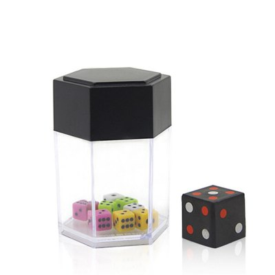 Explosion Dice Mini Colorful Bomb Change Size Kids Magic Trick Toys