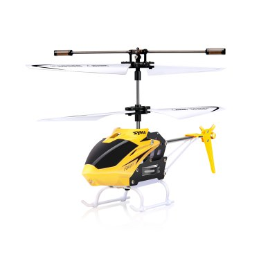 SYMA W25 2CH Indoor Small RC Electric Aluminium Alloy Remote Control Helicopter for Kids