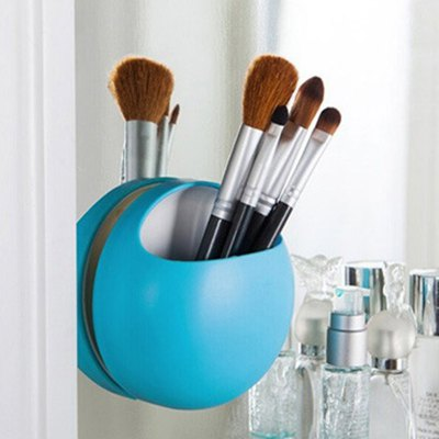 New products gadgets Fashion Bathroom Kitchen Family Toothbrush Suction Holder Wall Stand Hook Cups Organizer