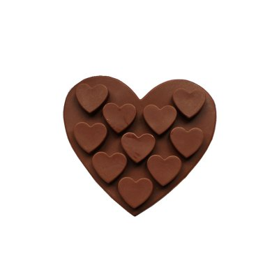 Silicone Heart Shape Cake Chocolate Mold