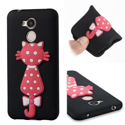 For Huawei Honors 6A Soft 3D Flower Cat Phone Case.