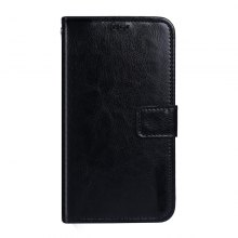 Crazy Horse Stripes PU Leather Wallet Case for Elephone P8 Mini