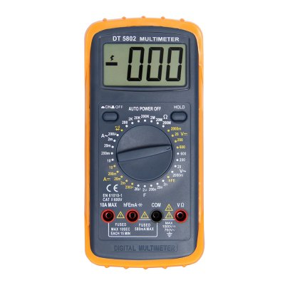 DT-5802 LCD Handheld Digital Multimeter Using for Home and Car