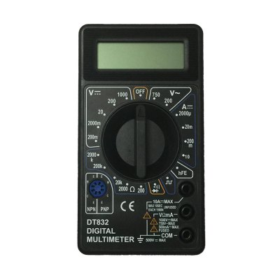 DT832 LCD Handheld Digital Multimeter Using for Home and Car
