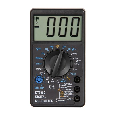 DT700D LCD Handheld Digital Multimeter Using for Home and Car