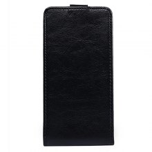 Up and Down Crazy Horse Stripes Pu Leather Case for Elephone P8 Mini