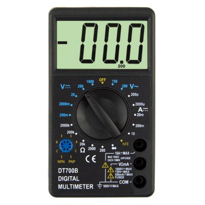 DT700B LCD Handheld Digital Multimeter Using for Home and Car
