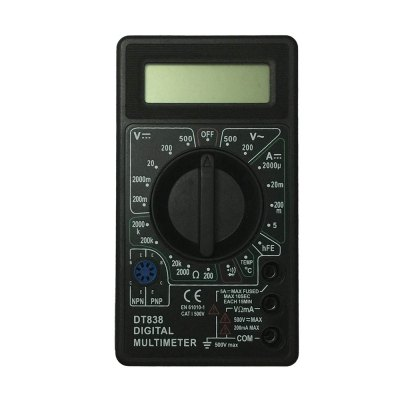 DT838-500V LCD Handheld Digital Multimeter Using for Home and Car