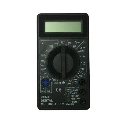 DT838-750V LCD Handheld Digital Multimeter Using for Home and Car