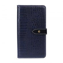 Crocodile Grain PU Leather Wallet Case for Elephone S8
