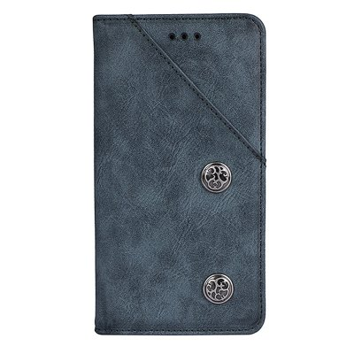 Retro Grain PU Leather Case for Elephone S8