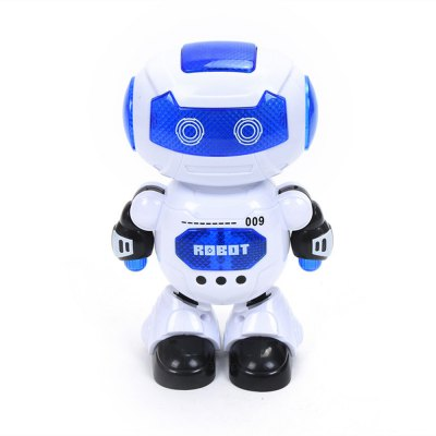 Electronic Walking Dancing Robot Toy with Music Lightening for Kids Toddlers