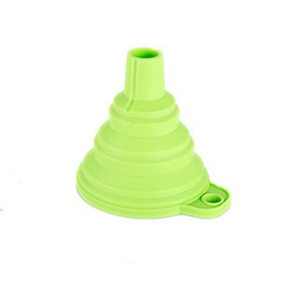 Food Grade Silicone Folding Telescopic Funnel