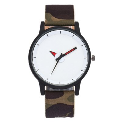 Camouflage Strap Sports Student Watch