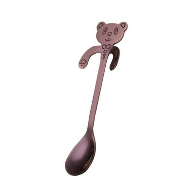 Stainless Steel Coffee Spoon Food Grade Ice Spoons Candy Teaspoon Kitchen Supplies Tableware