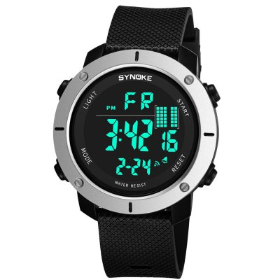 SYNOKE 9658 Outdoor Multifunction Large Dial Men Sports Electronic Watch