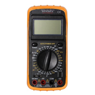 DT9205A.4 LCD Handheld Digital Multimeter Using for Home and Car