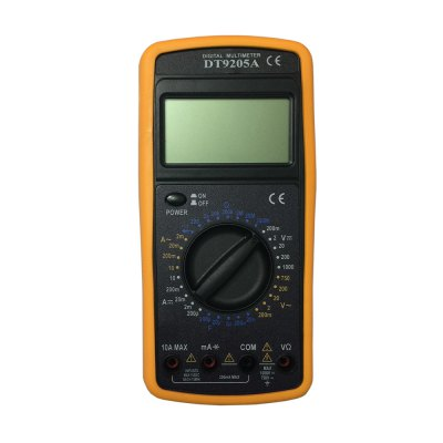 DT9205ACE LCD Handheld Digital Multimeter Using for Home and Car
