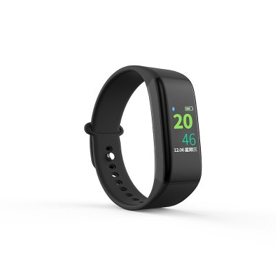 J Style Real Time Color Screen Heart Rate Fitness stater Smart Bracelet
