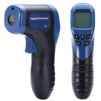 LOCKMALL Non-Contact Digital Display Laser Tachometer