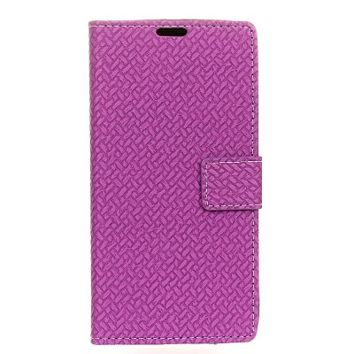 Cover Case For LG V20 Mini Braided Pattern PU Leather Wallet