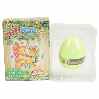 Happy Bear Egg Water Hatching Magic Children Kids Toy