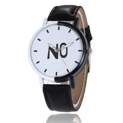 Fashion New products gadgets Girl Boys Students Leather Watch