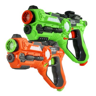 Laser CS Outdoor Live Battle Simulation Toy Gun 2PCS