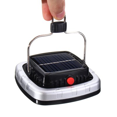 New products gadgets Portable 3W 300LM COB LED Solar Lantern USB Rechargeable Camping Tent Light Emergency Lamp