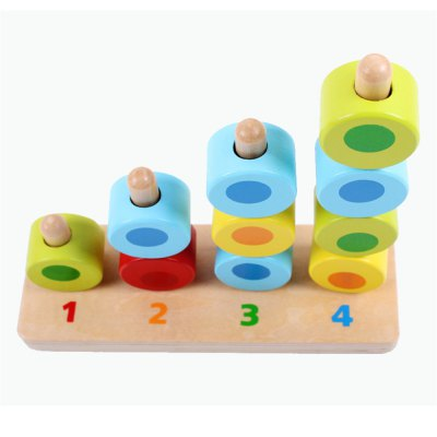 Porous Cognitive Mathematics Paired with Early Childhood Building Blocks