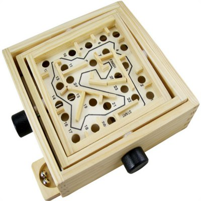 Intellectual Development Look for Export Games Wooden Ring Balance Toy