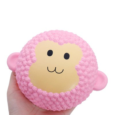 Jumbo Squishy Monkey Soft Slow Rising Collection Gift Decor Toy