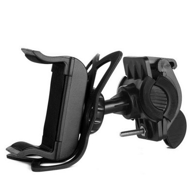 360 Degree Adjustable Bicycle Phone Holder Motorcycle Bike Handlebar Universal Smartphone Mount for Bike GPS Navigation